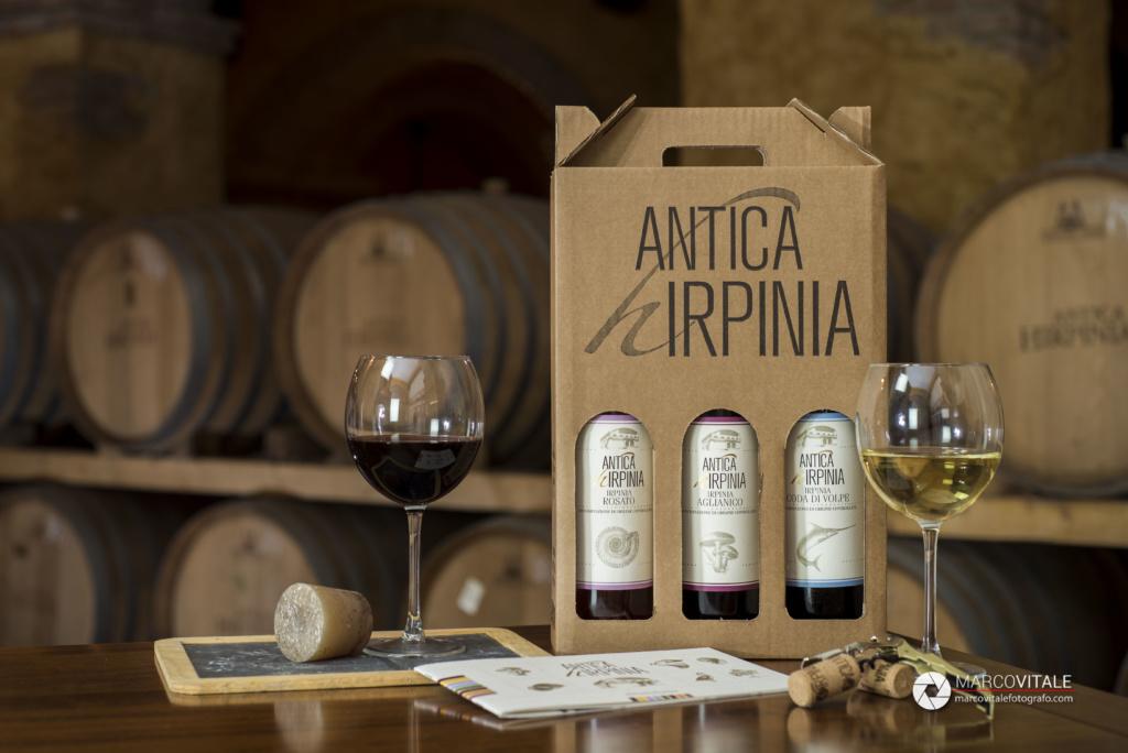 Servizio fotografico per cantina vinicola
