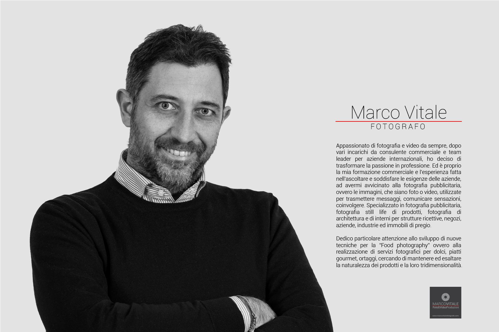 Marco Vitale - Fotografo pubblicitario
