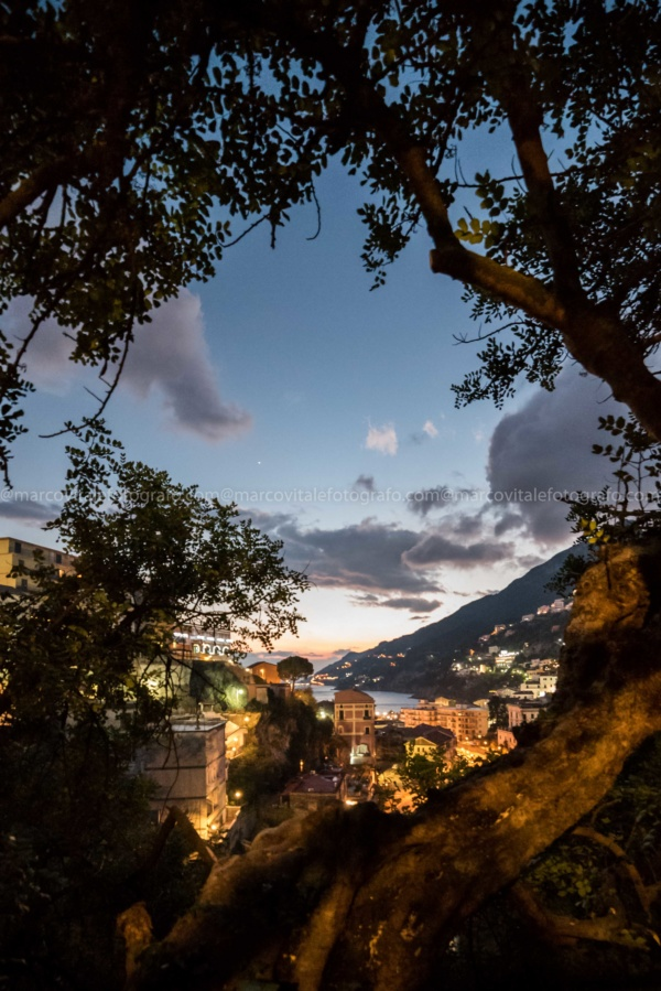Vietri sul Mare - Scorcio al tramonto - marcovitalefotografo.com