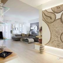 Servizio fotografico di interni per appartamento ristrutturato a Salerno