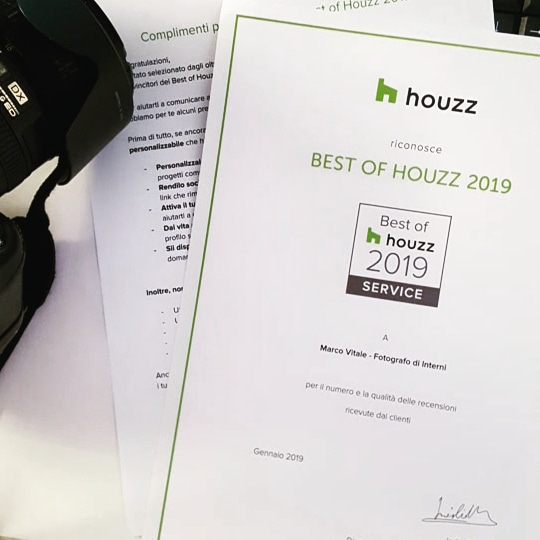 Premio Best of Houzz 2019