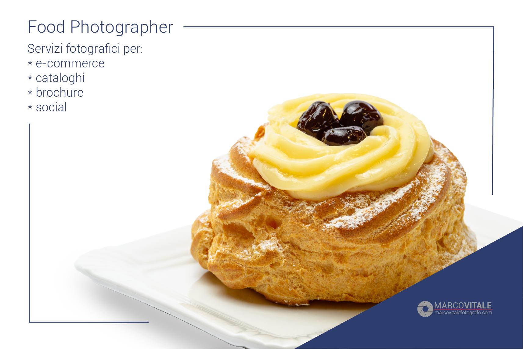 Food photographer Napoli