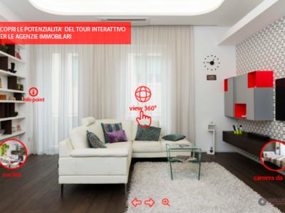 Tour Virtuali interattivi per agenzie immobiliari