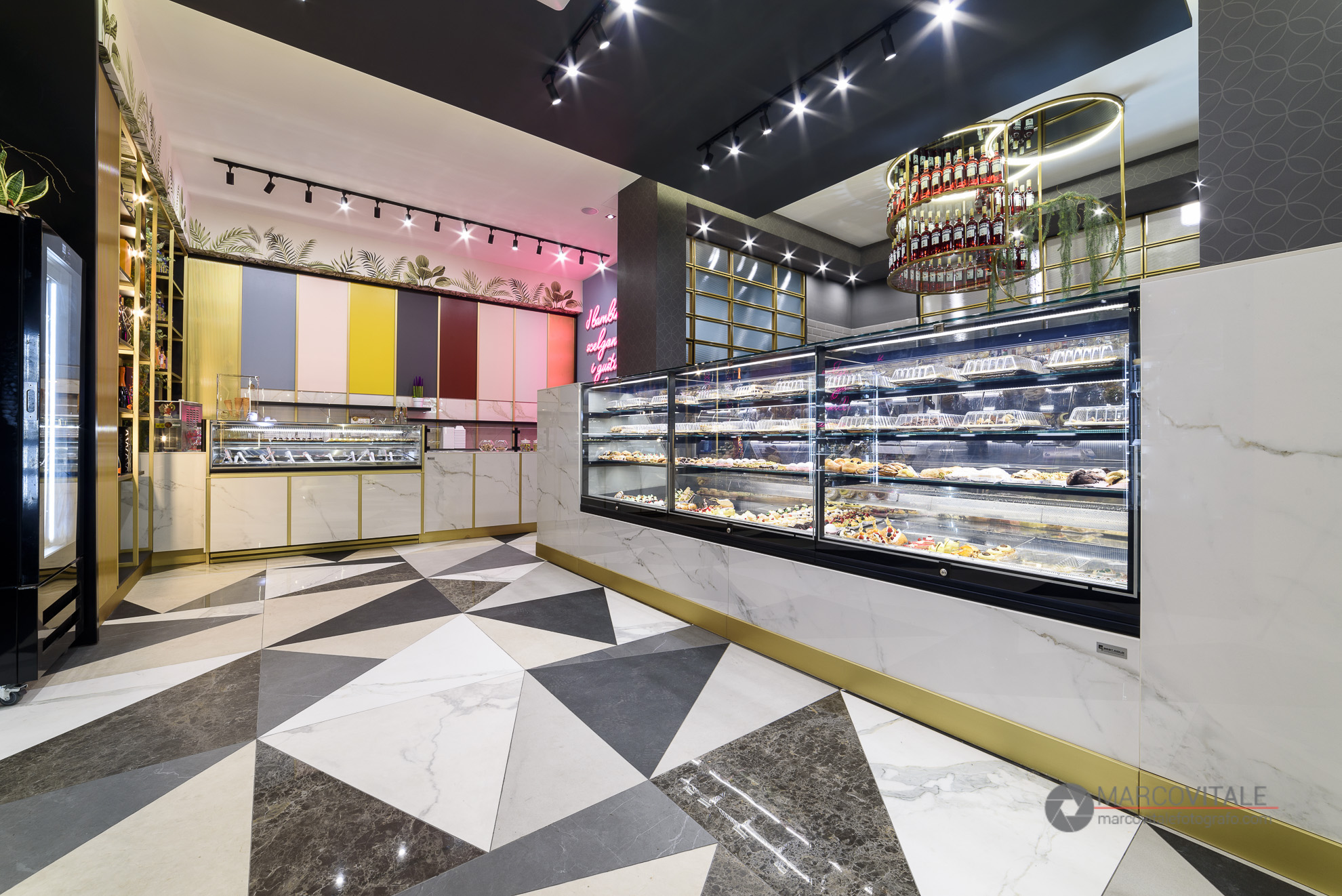 servizio fotografico per arredo negozi Napoli