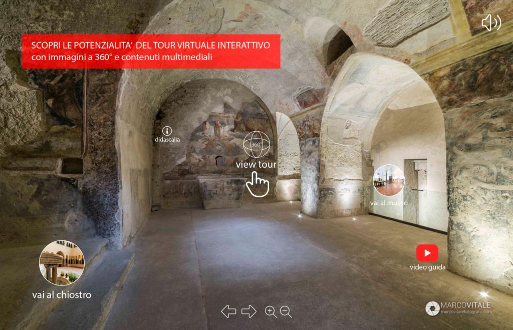 Visita virtuale interattiva per musei
