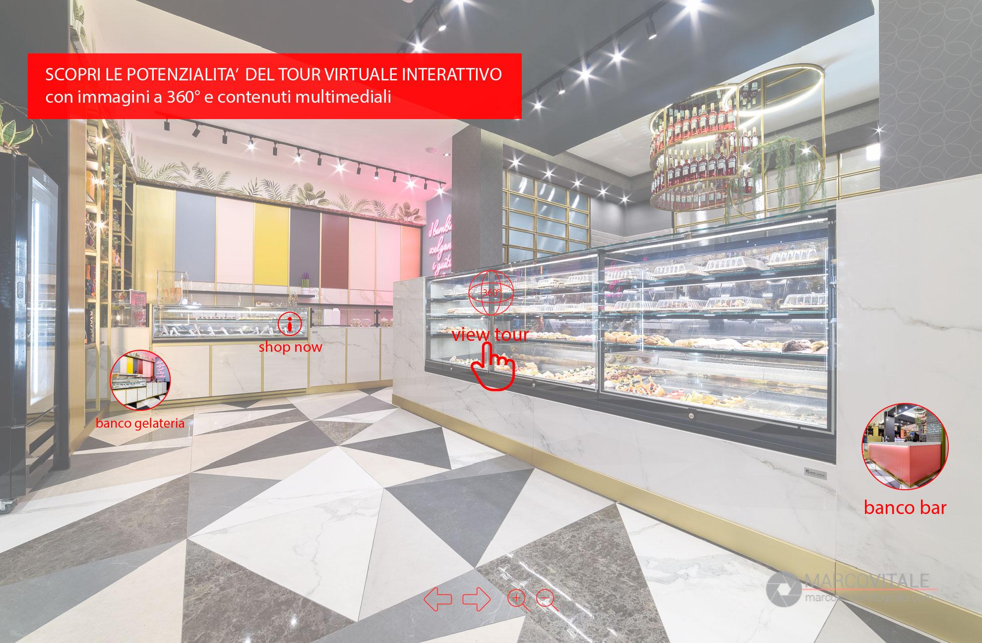Realizzare un tour virtuale interattivo